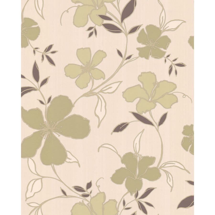 Superfresco Easy Green and Cream Strippable Non-Woven Paper Unpasted Textured Wallpaper