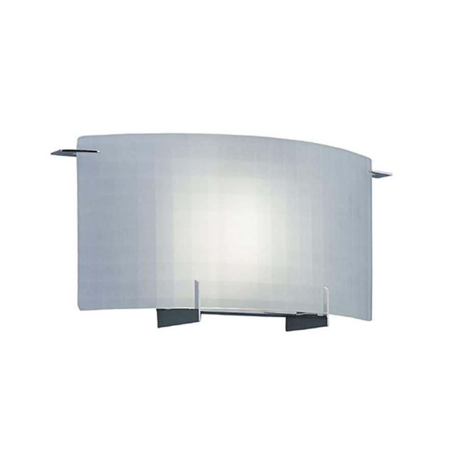 Designer's Fountain 14.25-in W 1-Light Chrome Pocket Wall Sconce