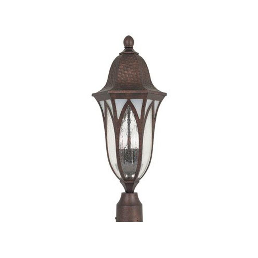 Designer's Fountain Berkshire 22.5-in H Burnished Antique Copper Post Light