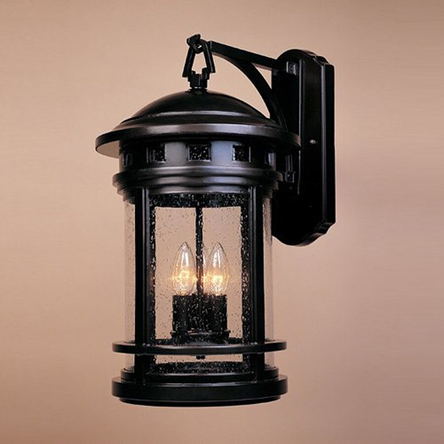 Shop Designer s Fountain Sedona 20-in H Oil Rubbed Bronze Outdoor Wall Light at Lowes.com