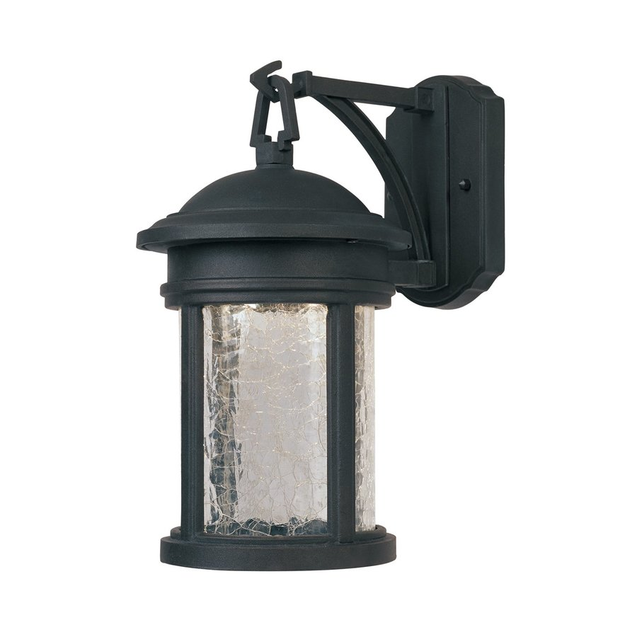 Shop Designer s Fountain Prado 13-in H LED Oil Rubbed Bronze Outdoor Wall Light at Lowes.com