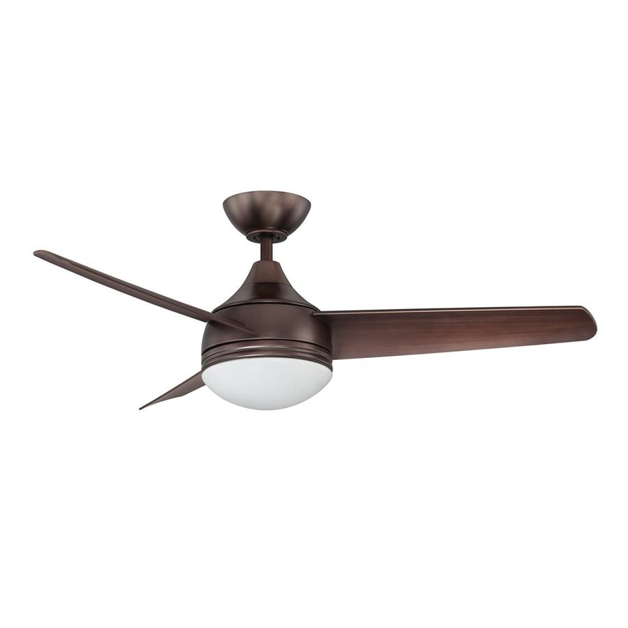 shop kendal lighting moderno 42 in oil brushed bronze downrod mount indoor ceiling fan with. Black Bedroom Furniture Sets. Home Design Ideas