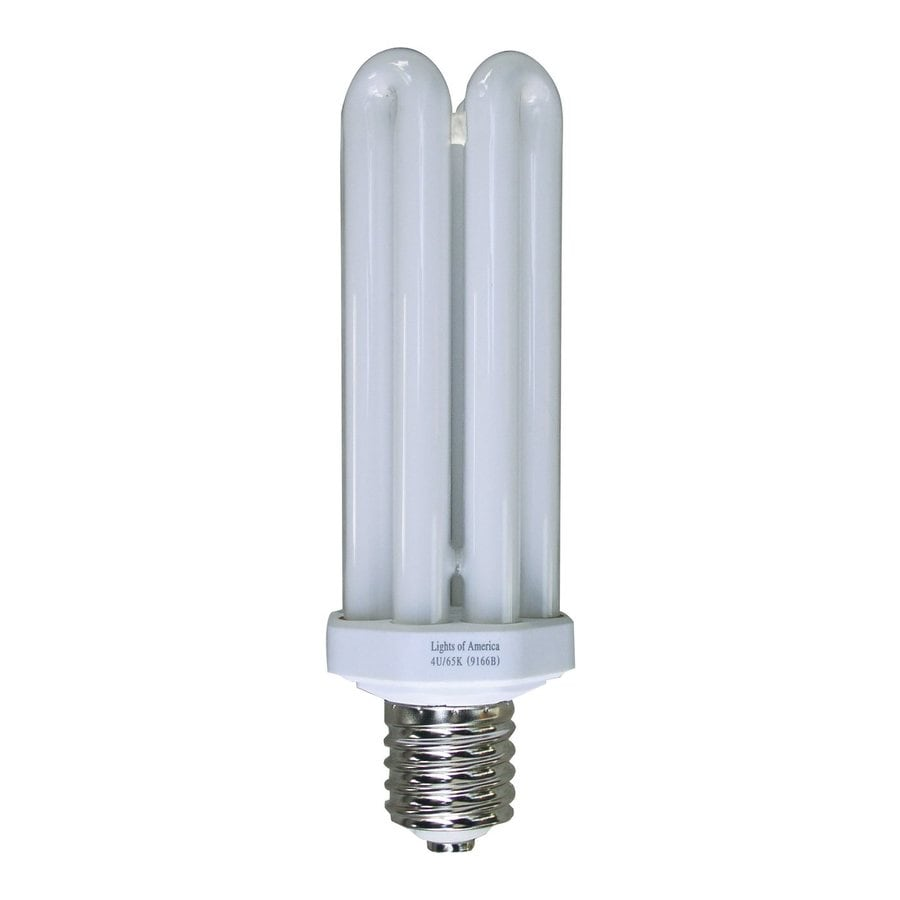 Shop Lights Of America 65 Watt 150w Equivalent 6 500k Triple Tube Mogul Base E 40 Daylight