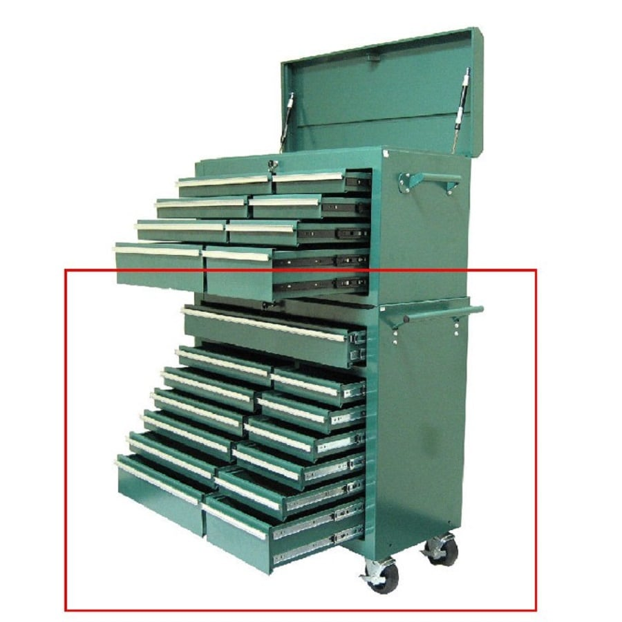 Shop Excel 39 7 In X 41 9 In 13 Drawer Ball Bearing Steel