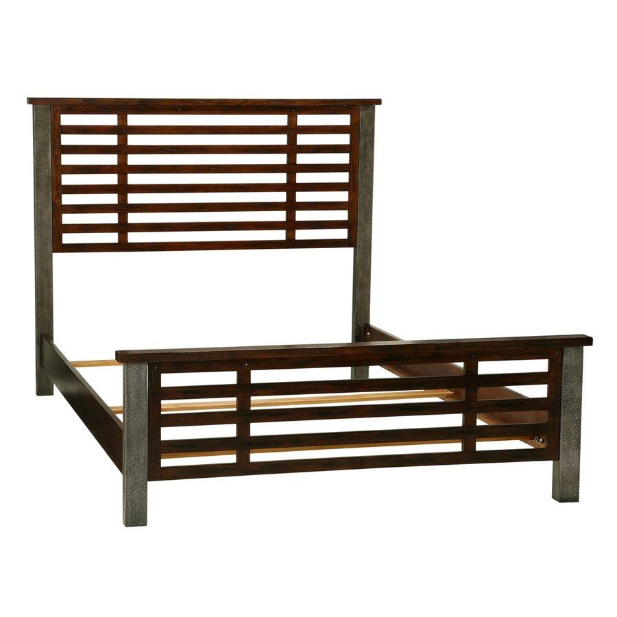 Home Styles Cabin Creek Chestnut Queen Panel Bed