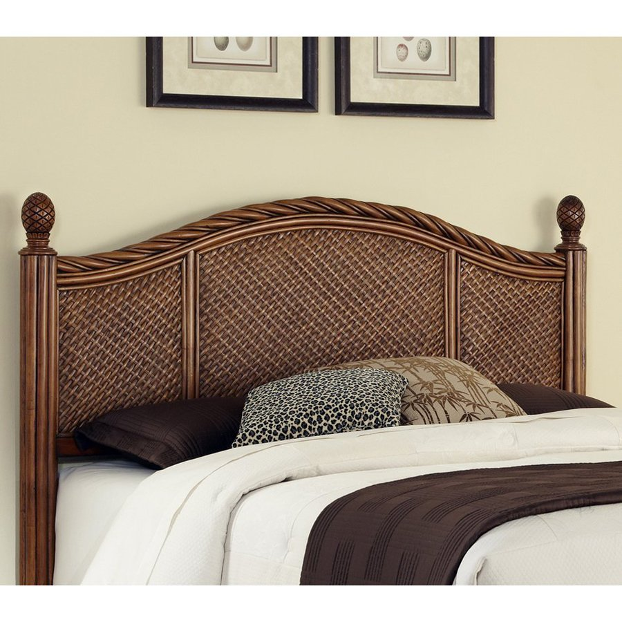 Shop home styles marco island cinnamon king cal king for California king headboard