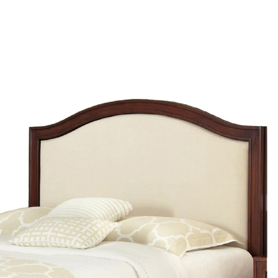 Shop home styles duet rustic cherry oyster king cal king California king headboard