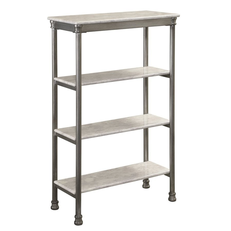 Home Styles 38-in H x 24-in W x 11-in D Freestanding Shelving Unit
