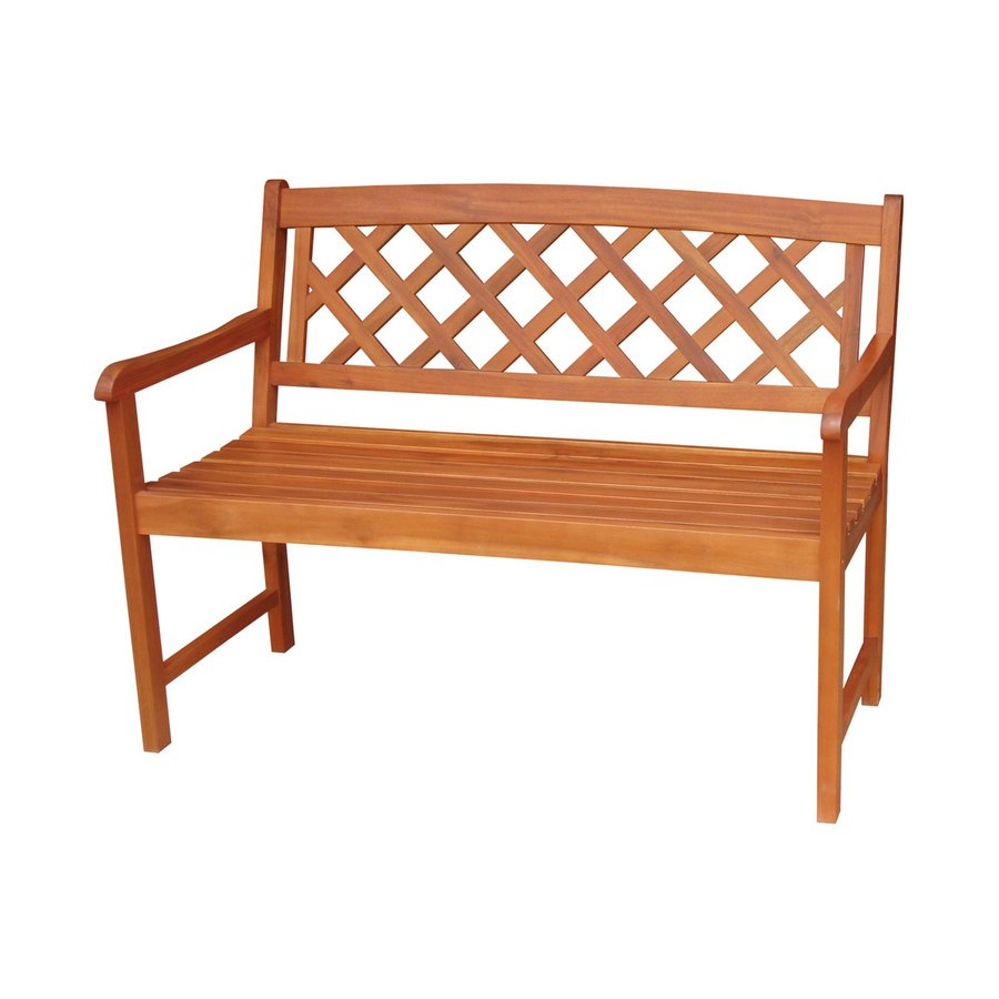 International Concepts 24.6-in W x 45.6-in L Natural Patio Bench
