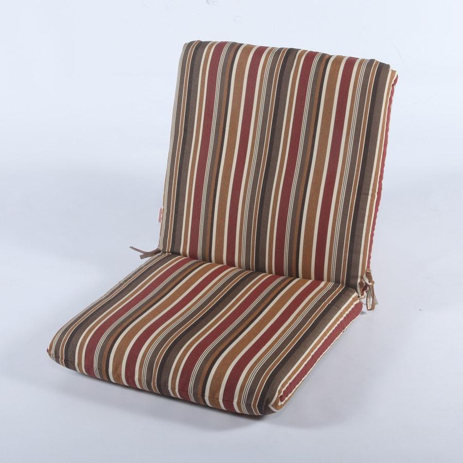 Casual Cushion Brannon Redwood Stripe Cushion For Universal