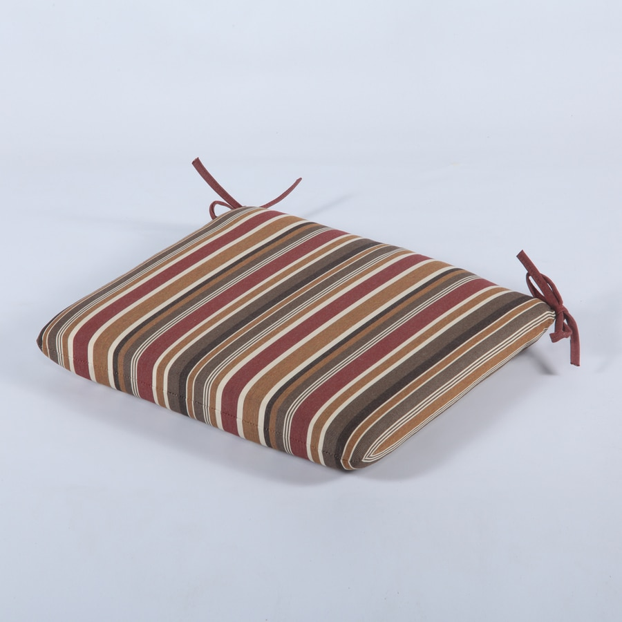 Casual Cushion Brannon Redwood Stripe Cushion For Universal