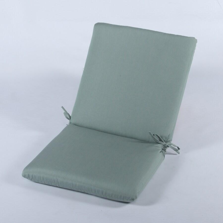 Casual Cushion Canvas Spa Solid Cushion For High-Back Chair