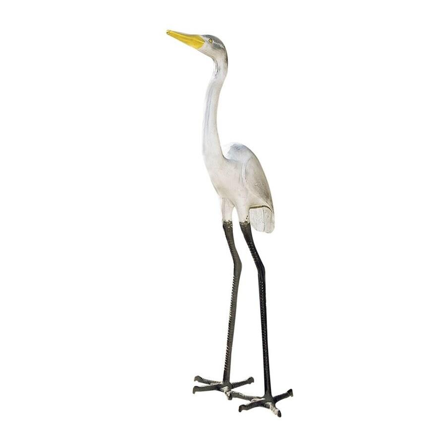 ACHLA Designs Great Egret 43-in Animal Garden Statue