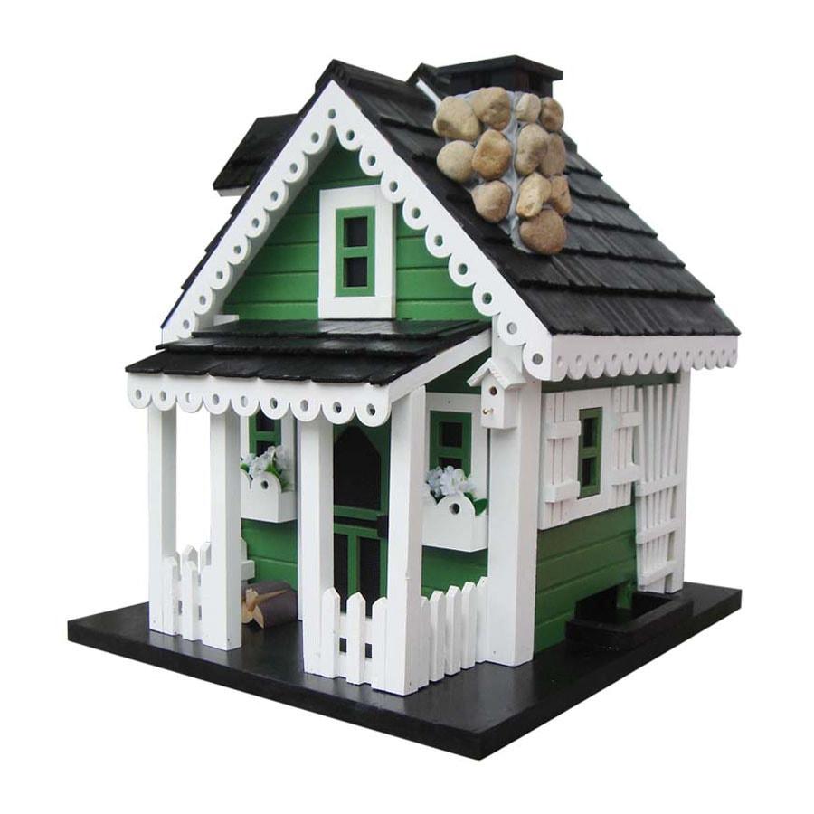 Home Bazaar Cottage Charmer Wood Platform Bird Feeder