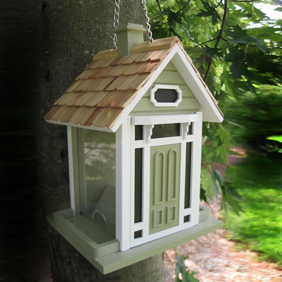 Home Bazaar Fledgling Wood Platform Bird Feeder