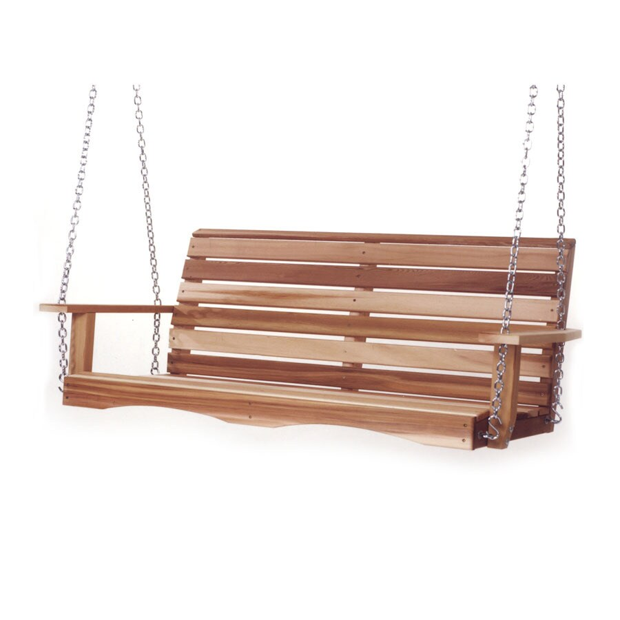 All Things Cedar Natural Porch Swing