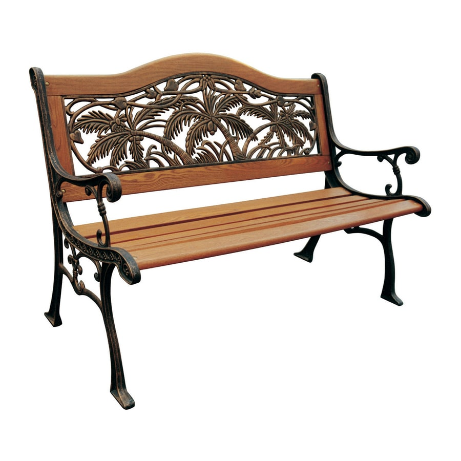 Shop D C America 31 5 In W X 49 5 In L Bronze Patio Bench At