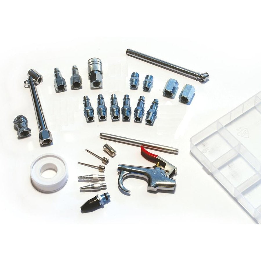 Primefit 25-Piece 14-in NPT Air Accessory Kit with Case
