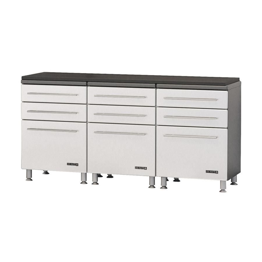 Ulti-Mate 70.75-in W x 36.5-in H Starfire Pearl Garage Storage System