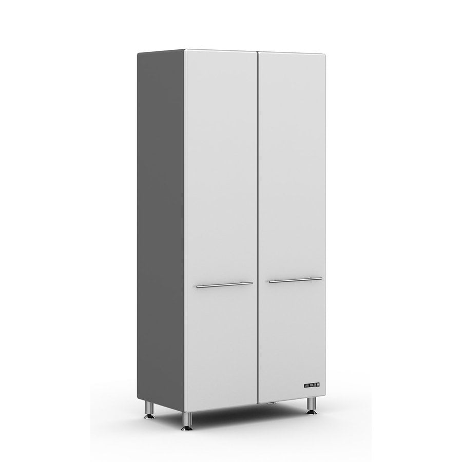 Ulti-Mate Storage 35.5-in W x 80-in H x 21-in D Wood Composite Freestanding Garage Cabinet