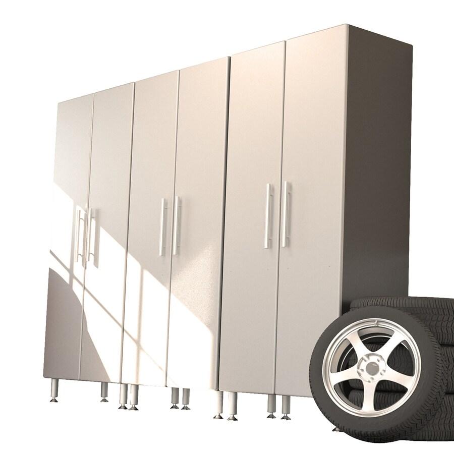 Ulti-Mate 108-in W x 82.8-in H Silver Garage Storage System