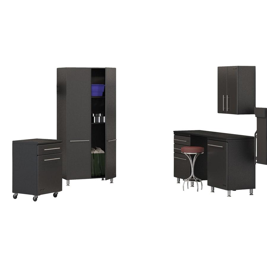 Ulti-Mate 151.85-in W x 80-in H Graphite Grey Garage Storage System