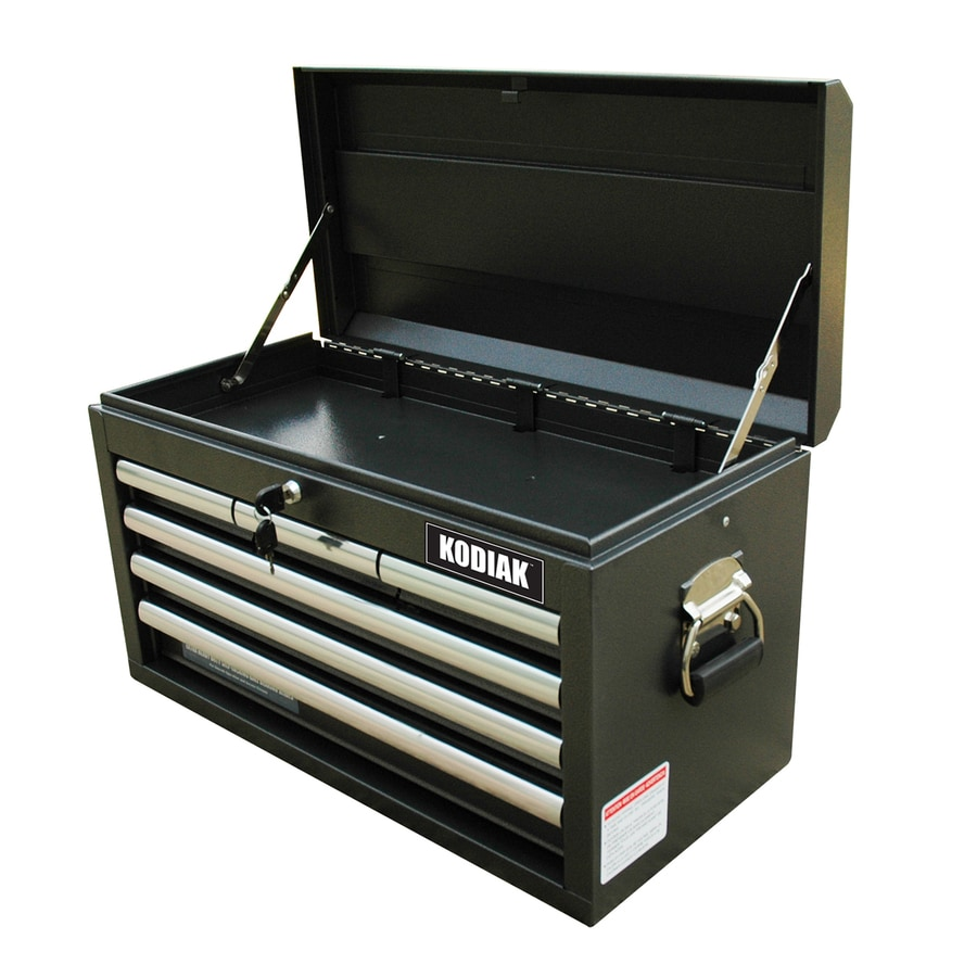 WEN 14.75-in x 26-in 6-Drawer Ball-Bearing Steel Tool Chest (Black)