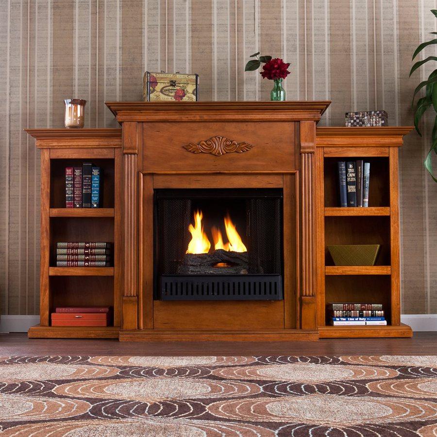Boston Loft Furnishings 70.25-in Gel Fuel Fireplace