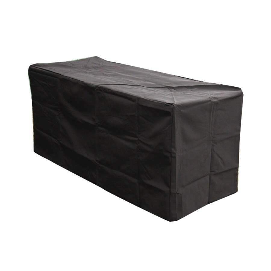 Outdoor Greatroom Company 22-in Key Largo Black Rectangle Firepit Cover