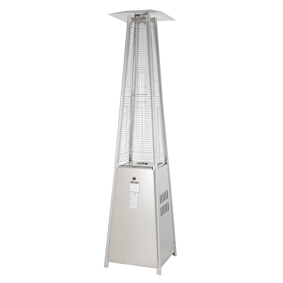 Shop fire sense 40000 btu stainless steel steel liquid for Fire sense patio heater assembly