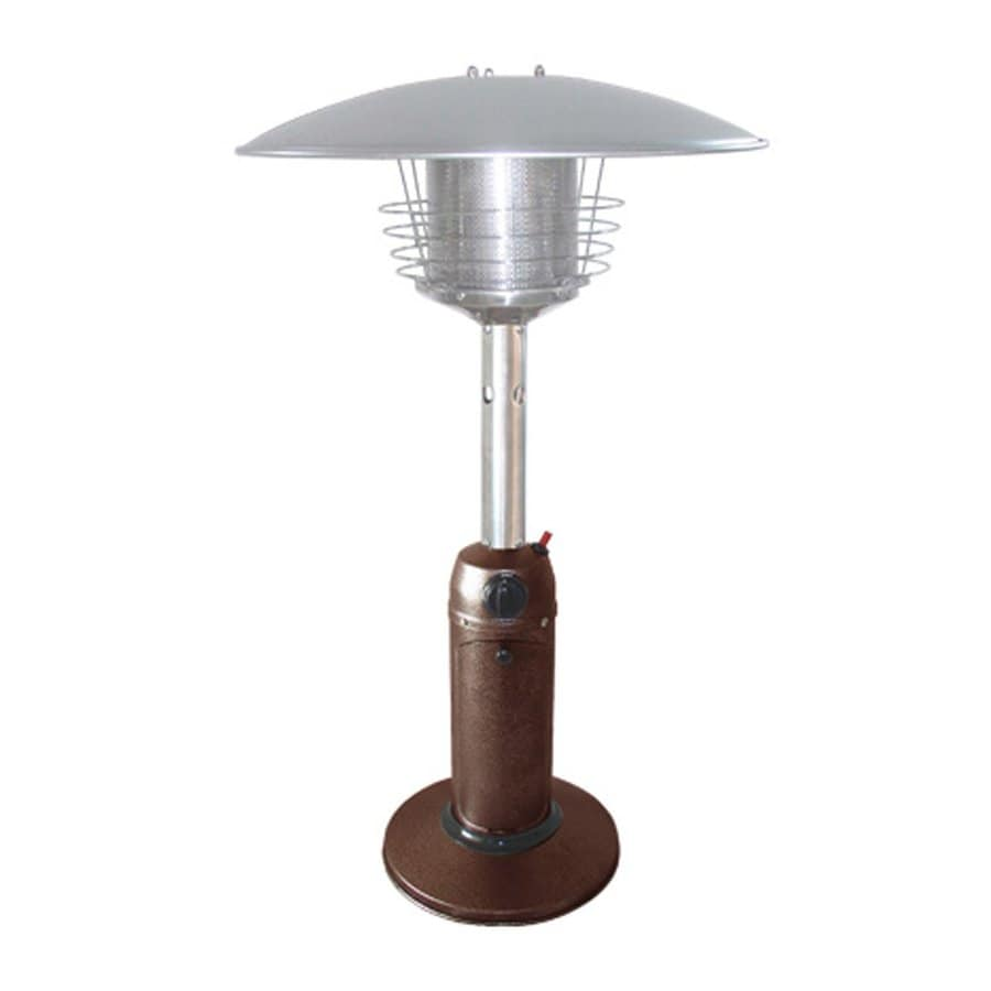 AZ  Patio 11000-BTU Hammered Bronze Steel Tabletop Liquid Propane Patio Heater