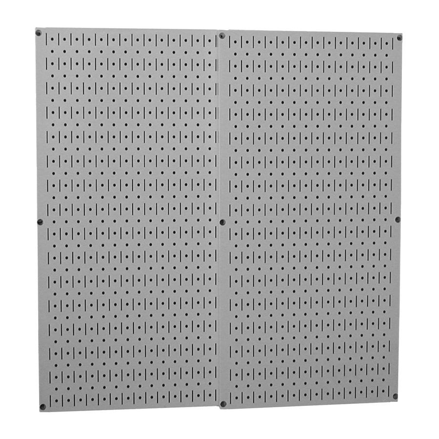Wall Control Steel Pegboard (Actual: 32-in x 32-in)