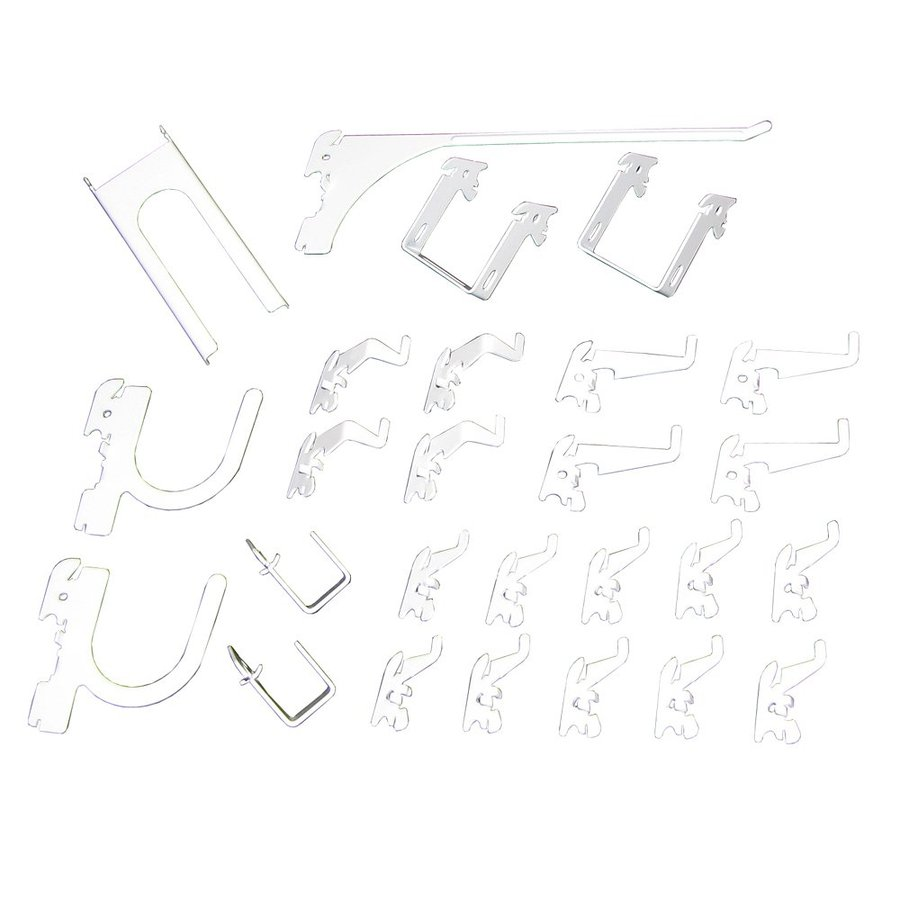 Wall Control 26-Pack Assorted Pegboard Hooks