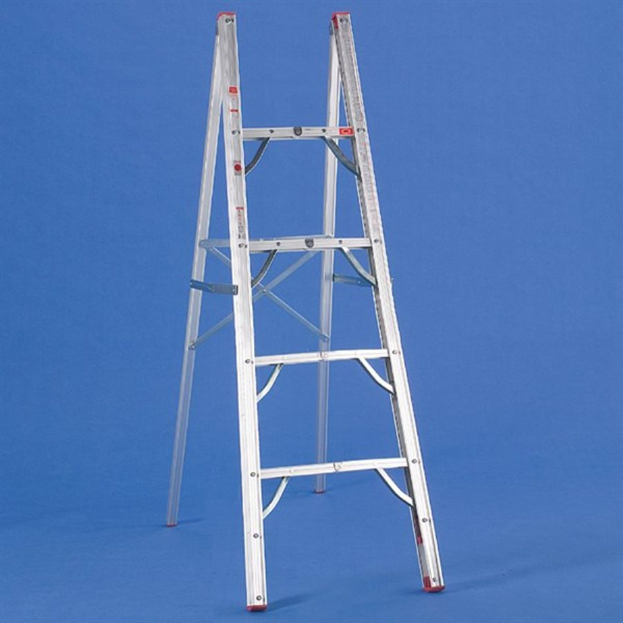 GPL 5-ft Aluminum 225-lb Type II Household/Utility/Kitchen Ladder