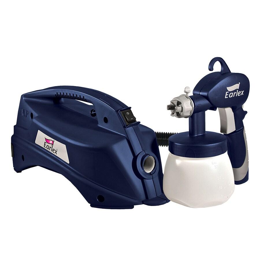 shop earlex hvlp sprayers 0 1 plastic 2 finger paint sprayer gun at. Black Bedroom Furniture Sets. Home Design Ideas