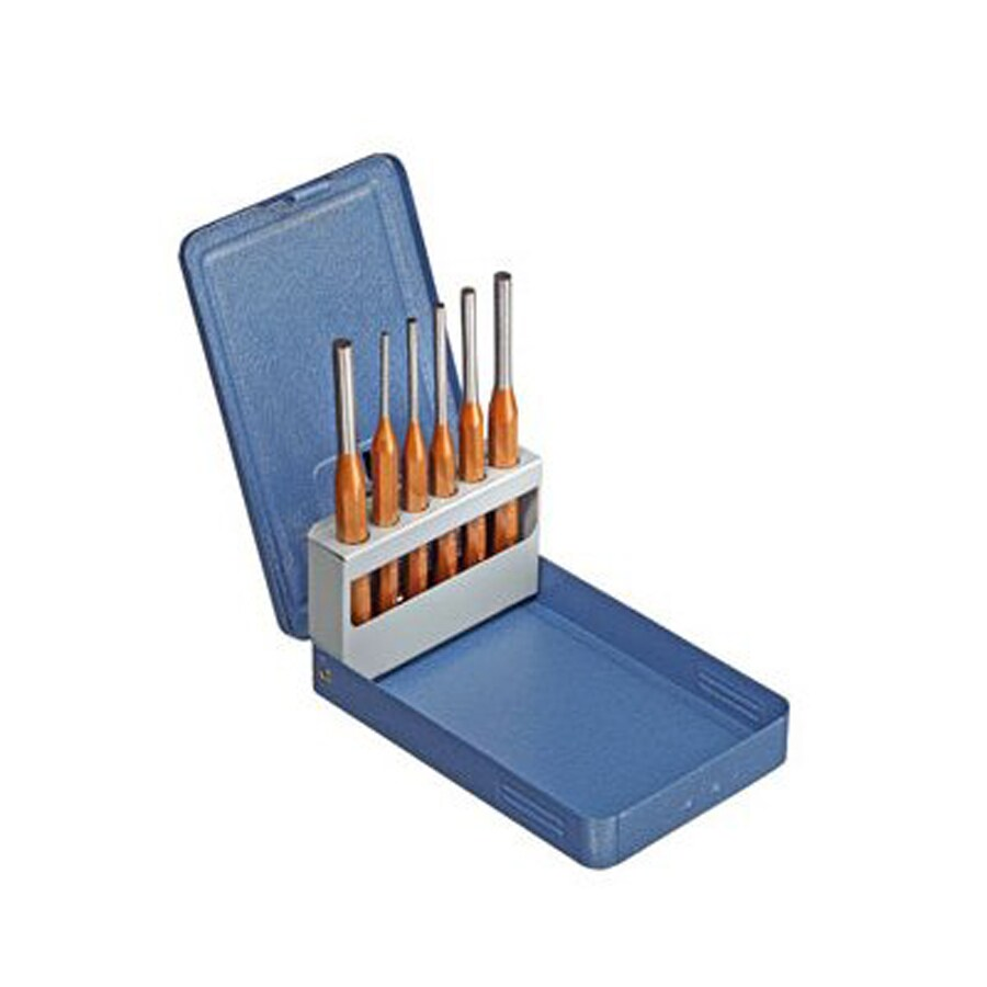 Gedore 6-Piece Set Pin Punch with Metal Case