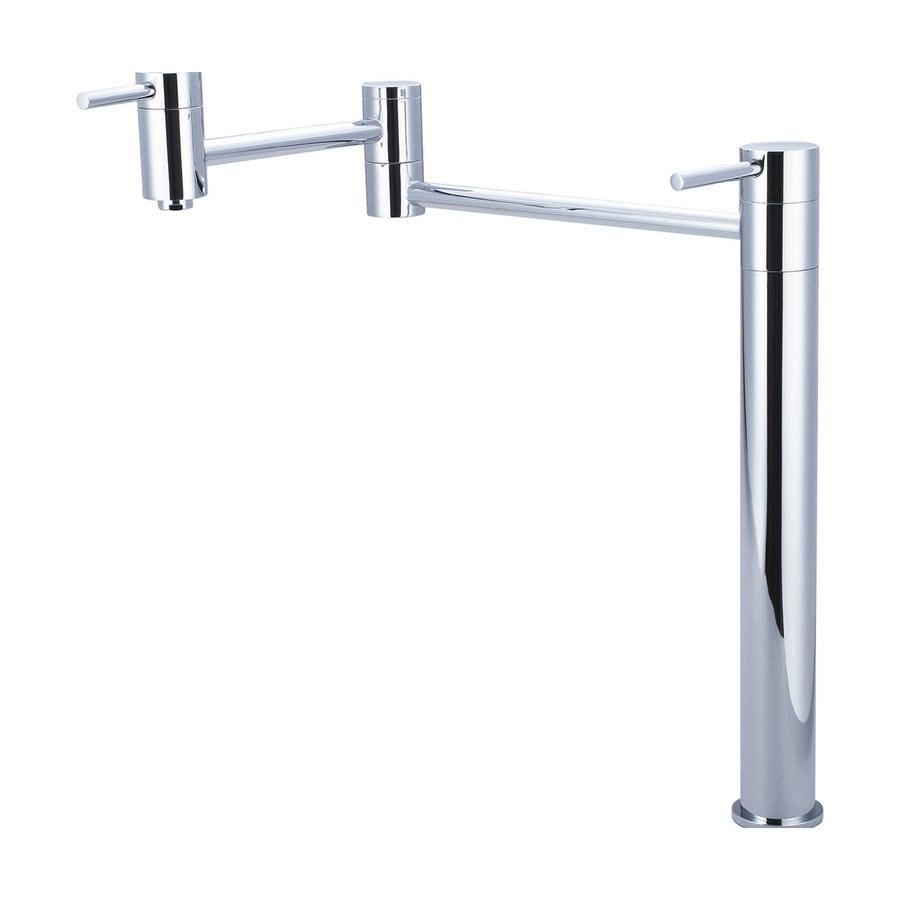 Pioneer Industries Motegi Polished Chrome 2-Handle Pot Filler Kitchen Faucet