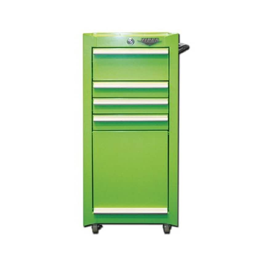 Viper Tool 37-in x 18-in 4-Drawer Ball-Bearing Steel Tool Cabinet (Green)
