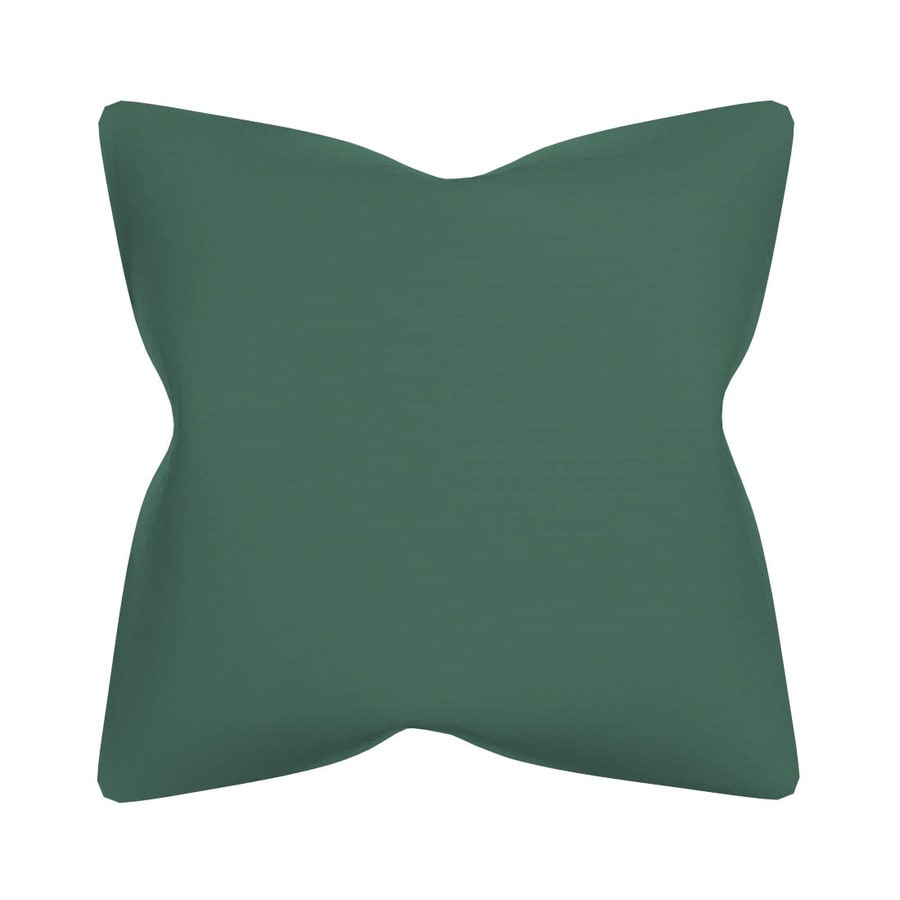 POLYWOOD Spa Solid Square Outdoor Decorative Pillow