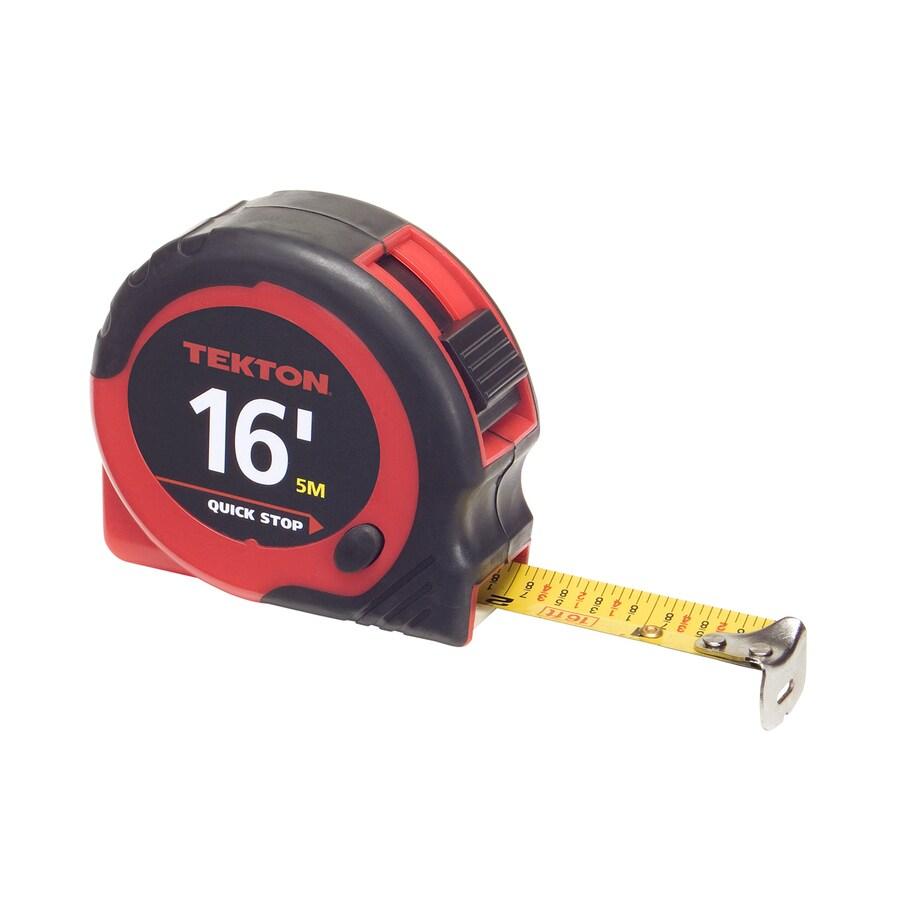 TEKTON 16-ft Locking Inches Tape Measure