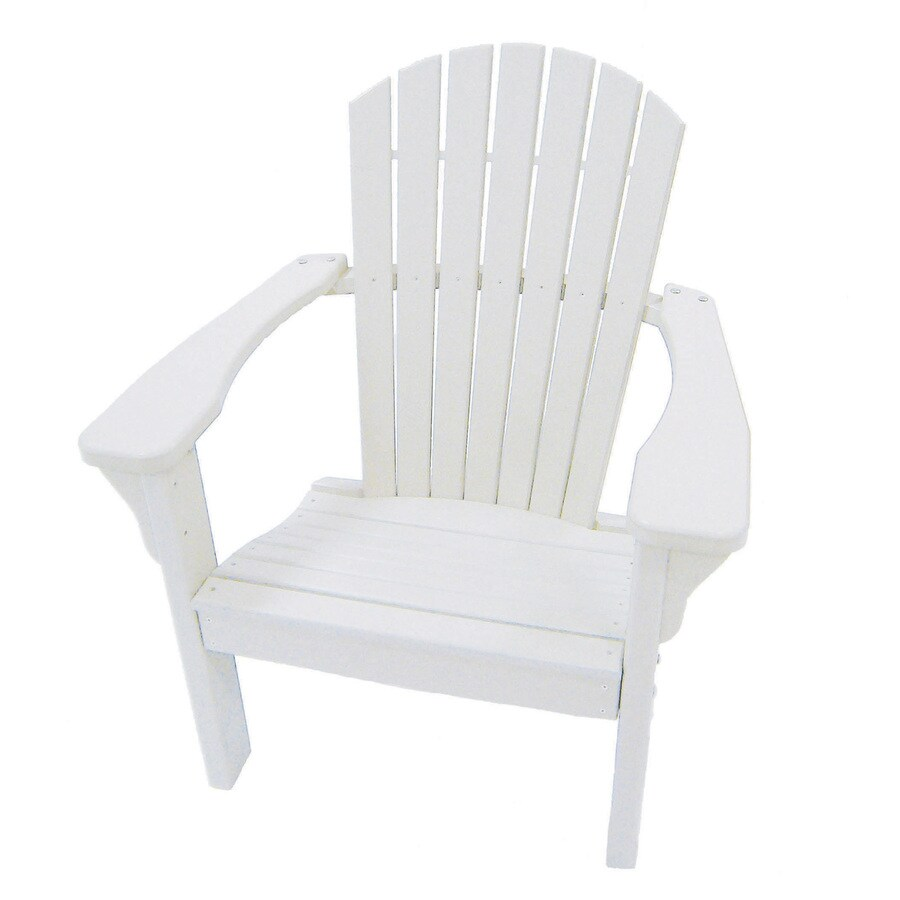 Shop Perfect Choice Furniture White Plastic Patio Dining Chair At