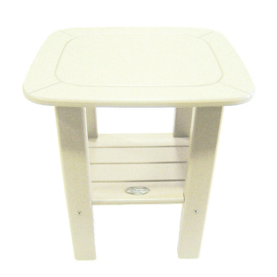 Shop Perfect Choice Furniture 18 In W X 20 In L Rectangle Plastic End Table At