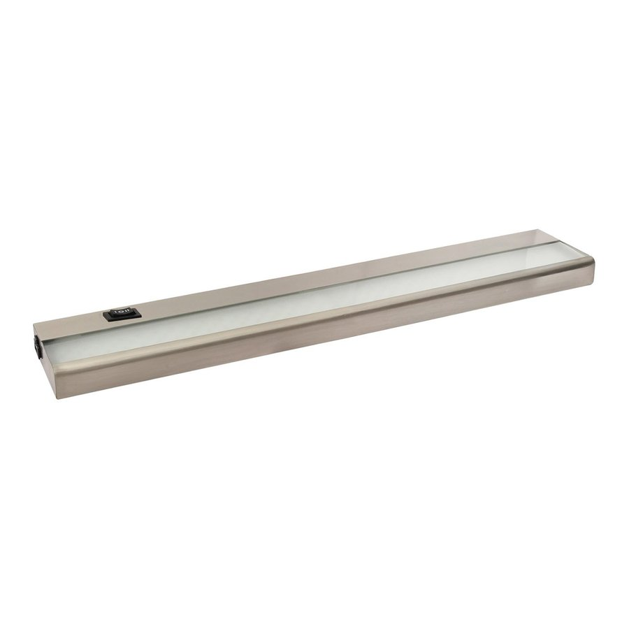 Amax Lighting 21-in Hardwired/Plug-In Under Cabinet LED Light Bar