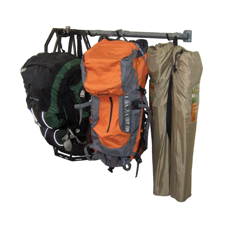 Monkey Bar 35-in L x 3-in H x 4-in D Silver Camping Gear Rack