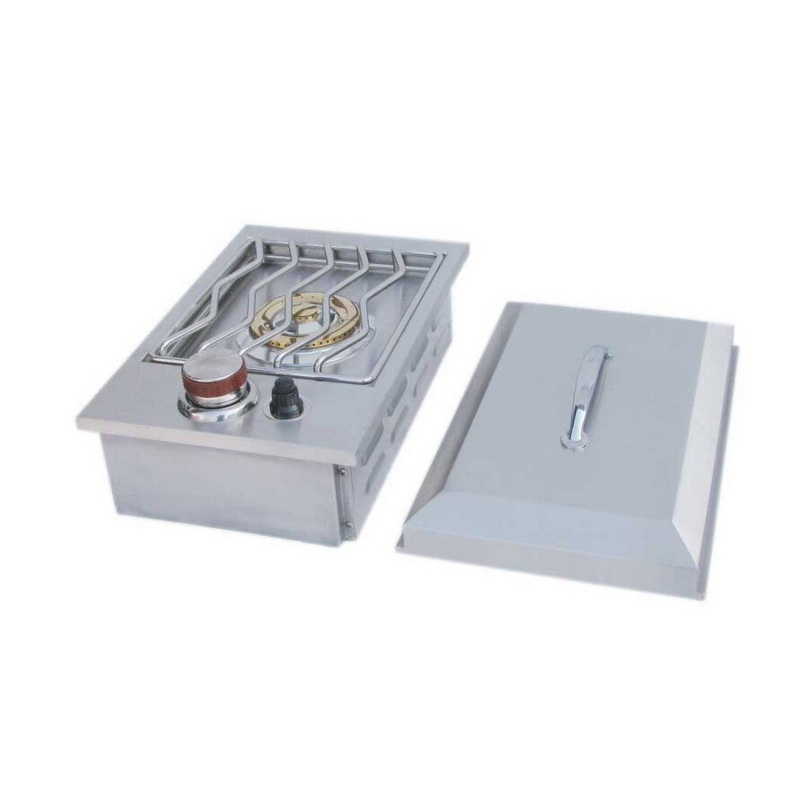 Sunstone Drop-In Single Side 8-in Electronic Ignition Outdoor Burner