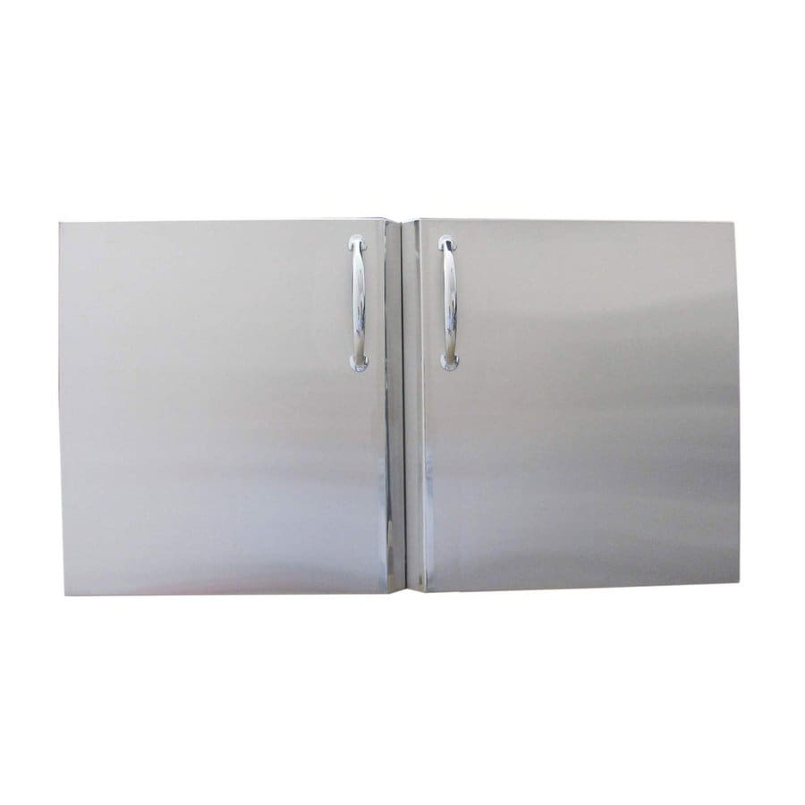 Sunstone Built-In Grill Cabinet Double Doors