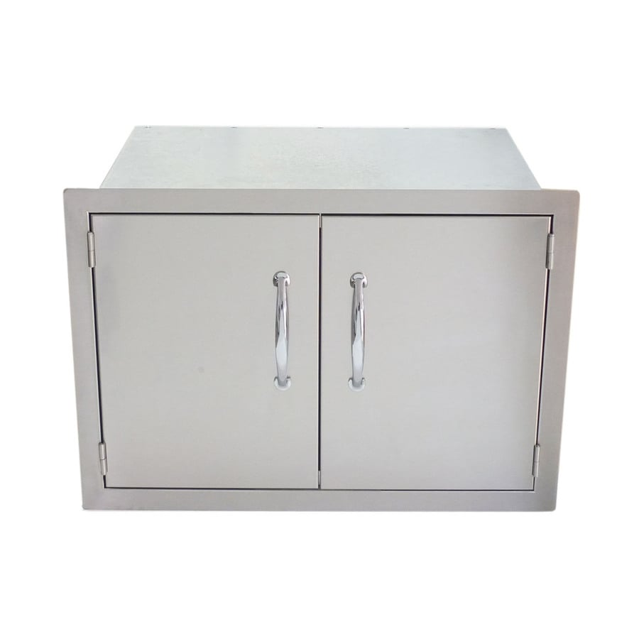 shop sunstone built in grill cabinet double doors at