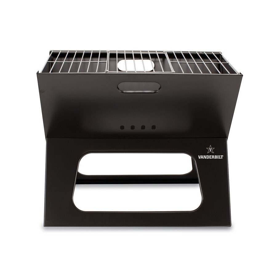 Picnic Time 203.5 Sq.-in Vanderbilt Commodores Portable Charcoal Grill