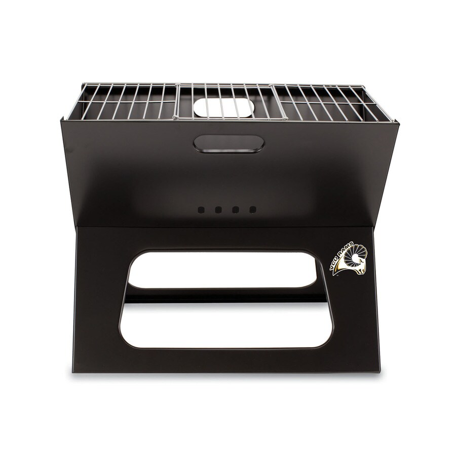 Picnic Time 203.5 Sq.-in Virginia Commonwealth University Rams Portable Charcoal Grill