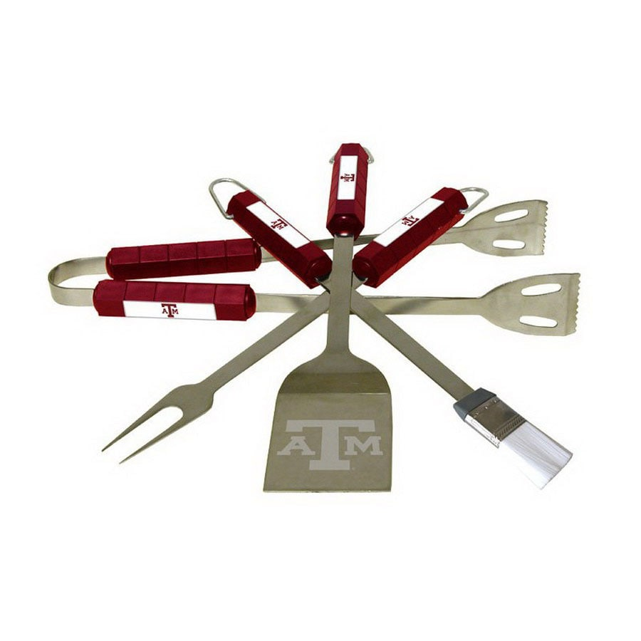BSI Products 4-Piece Texas A&M University Aggies Stainless Steel Tool Set